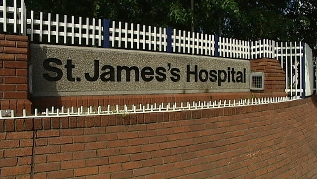 The emergency department at St James's was found to be cluttered due to overcrowding