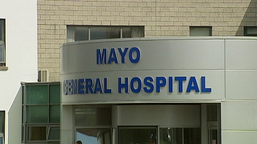 The woman died in Mayo General Hospital