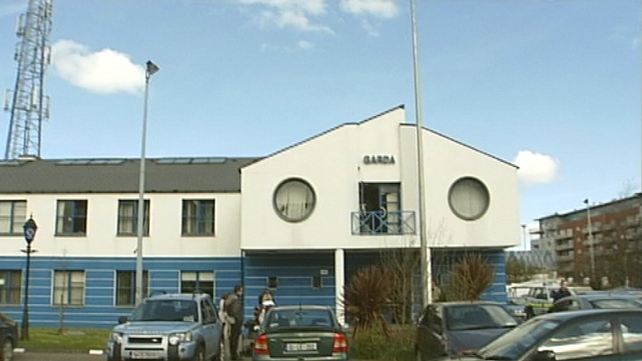 One of the men was taken to Tallaght Garda Station