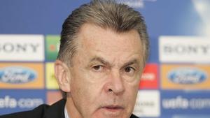 Swiss coach Ottmar Hitzfeld