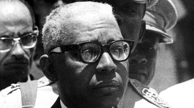 The former Haitian dictator Papa Doc Duvalier