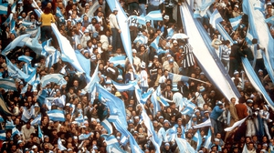 Argentinan fans brought plenty of colour to the '78 finals