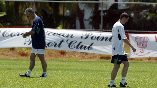 Mick McCarthy sent Roy Keane home from the World Cup in 2002