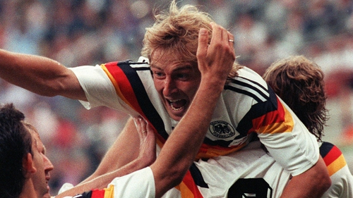 Kilnsmann in jubilant mood after the German triumph