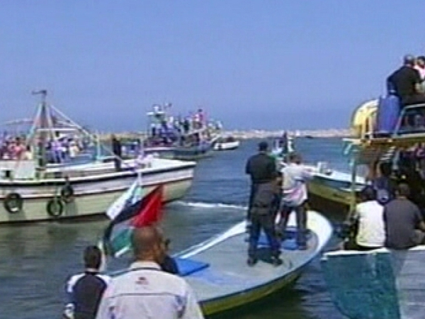 Flotilla - Prevented from leaving Cyprus