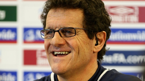 Fabio Capello is the new Russia manager