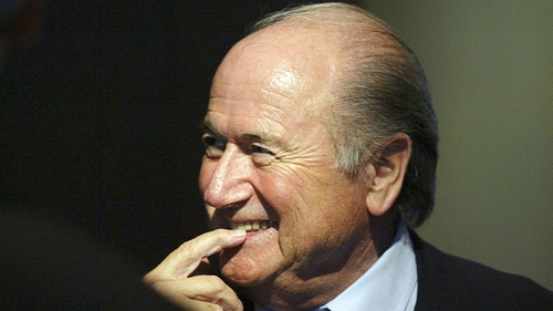 Sepp Blatter said his mission was not yet complete