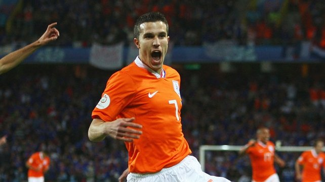 Robin Van Persie's Netherlands are in a nightmarish Group B
