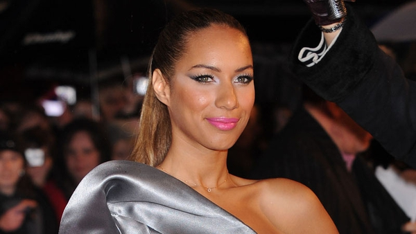 Leona Lewis is very happy with her new beau