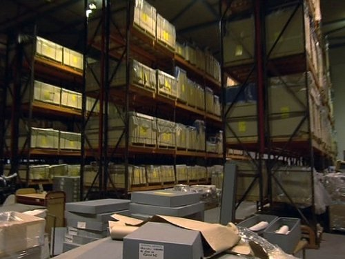 Archives - Being housed in warehouse