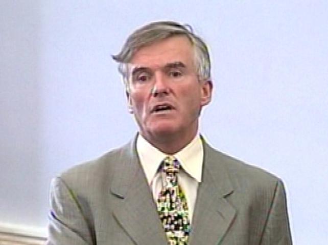 Ivor Callely - Regrets statement in Seanad