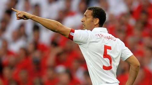 Rio Ferdinand earned 81 caps for England