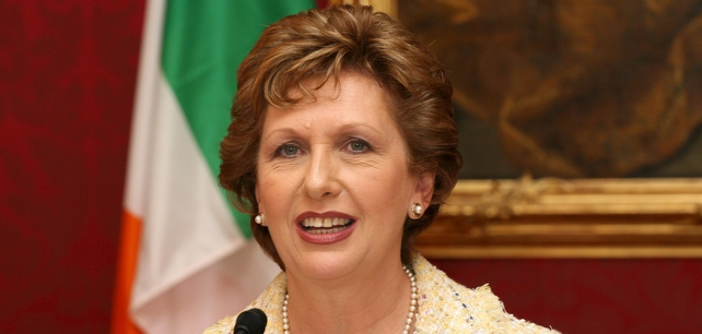 Mary McAleese - On official visit to Russia