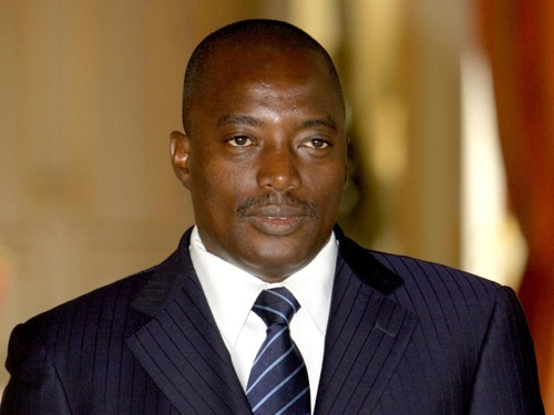 President Joseph Kabila - Appointed John Numbi as police chief
