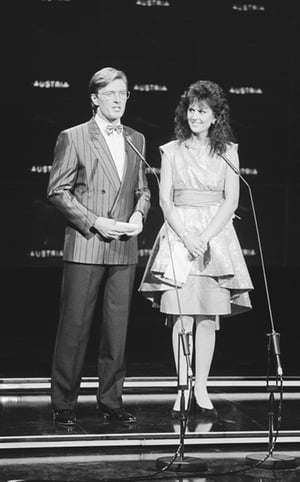 With Michelle Rocca presenting the Eurovision