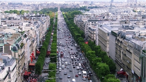 There was a sharp rise in the number of trips to France during the first quarter