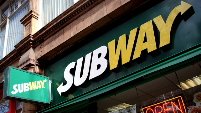 Subway plans to open 40 new shops in Ireland over the next year alone