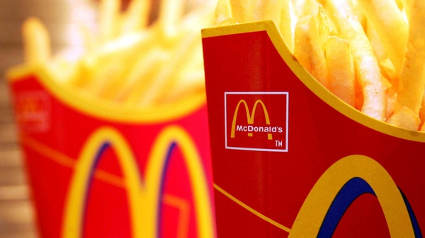 The fast food giant said its global same-store sales jumped 12.7% in the third quarter ended September 30