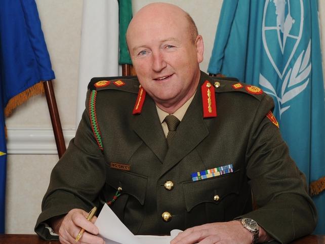 Sean McCann - Has served overseas six times