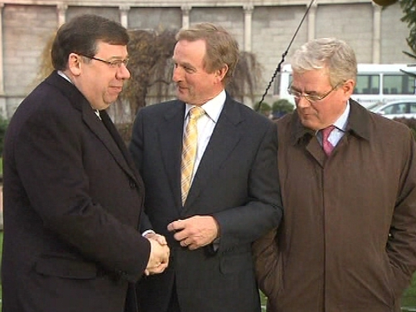 Cowen, Kenny & Gilmore - Poll only offered voters two choices for Taoiseach