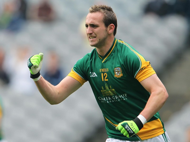 Graham Reilly was on target for Meath's first goal