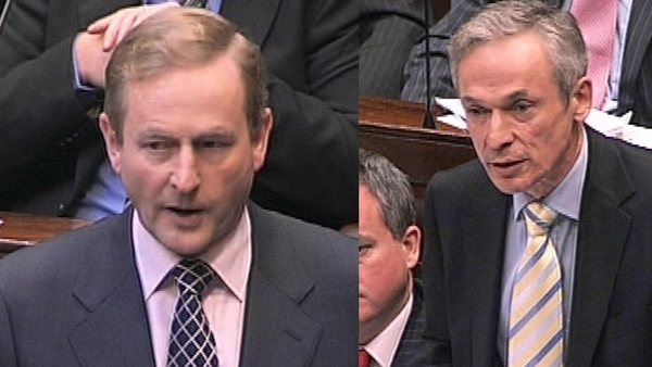 Kenny & Bruton - Fine Gael leader sacked his Deputy Leader