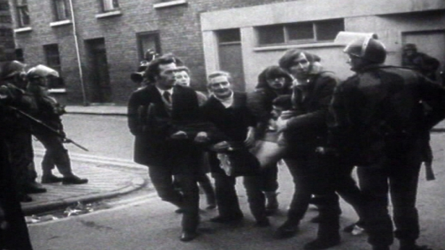 Derry - Shooting at civil rights march in 1972