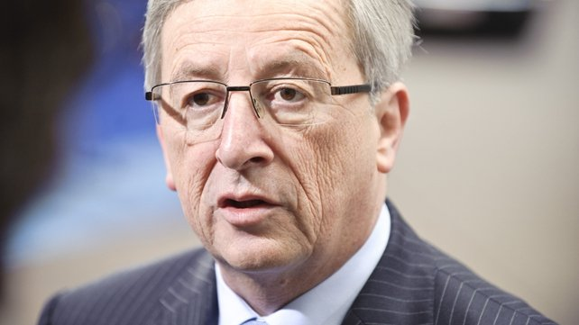 Jean-Claude Juncker said he 'would be willing' to succeed Manuel Barroso in the role