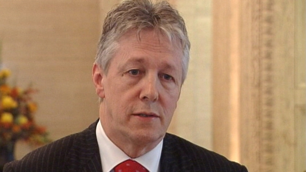 Peter Robinson - Will meet with families