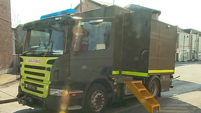 Army Bomb Disposal Team - Chemicals made safe