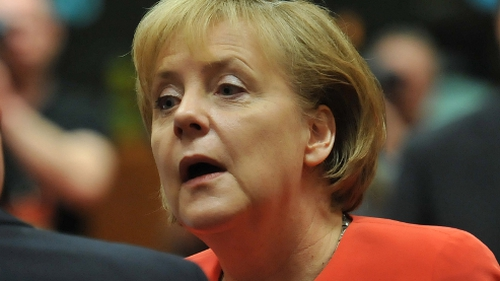 Angela Merkel - Trusts evaluations of EU, European Commission, and ECB