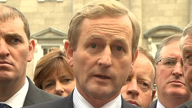 Enda Kenny - Expected to make major changes to frontbench