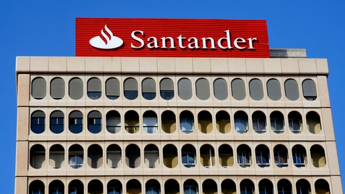 Santander reported an annual net loss of €8.77 billion - its first annual loss ever