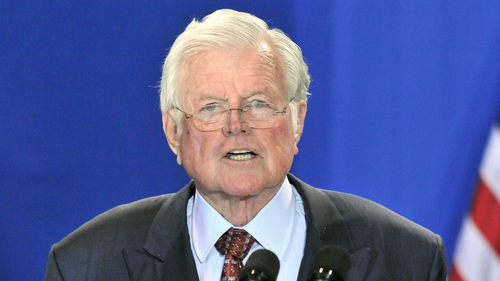 Ted Kennedy - Died last August