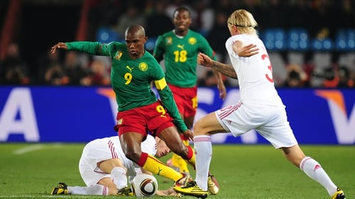 Cameroon have been suspended b FIFA