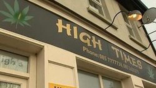 Headshops - 44 operating in Ireland