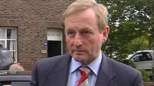 Enda Kenny - Party leading the poll