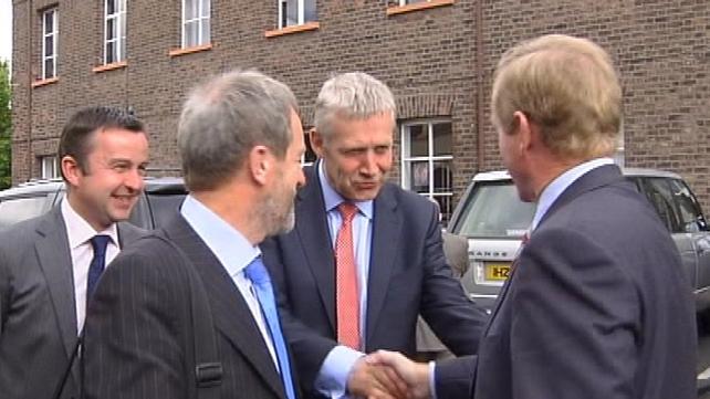 Belfast - Fine Gael delegation holds talks