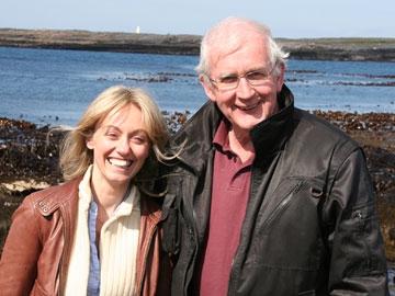 Clodagh McKenna with Mairtin Concan