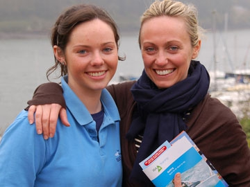 Clodagh with Susie Mahony of SailCork