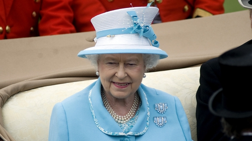 Queen Elizabeth - Policing plans posted on garda website