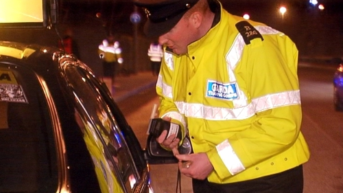 The minister said that drivers under 44 accounted for 70% of intoxicated drivers in 2015