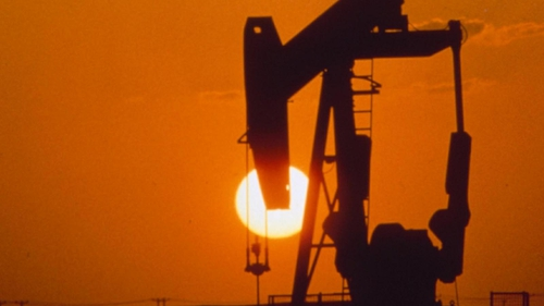 Oil prices higher on better than expected figures from China