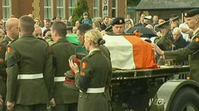 Newbridge - Full military honours