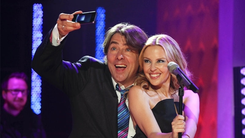 Jonathan Ross - recently had Kylie Minogue on the show