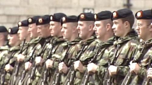 Irish Army - Six-month deployment