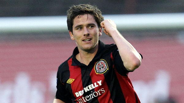 Gareth McLynn was on the mark for Bohs