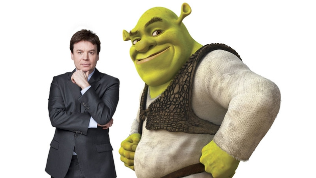 Mike Myers, the voice of Shrek