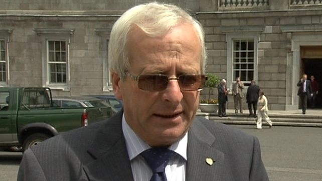 Mattie McGrath - May withdraw support for Govt