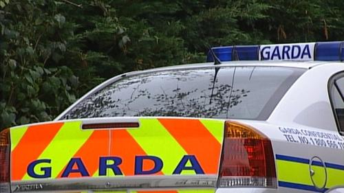 Gardaí - Arrested man at scene